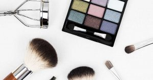 Pearlescent eye shadow palette - find out how to add pearlescence to cosmetics in the Prospector Knowledge Center.