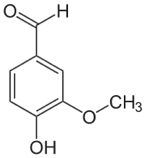 Chemical formula for Vanillin, used in whisky. Learn more about the chemistry of whisky in the Prospector Knowledge Center.