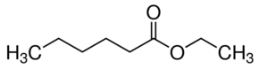 Chemical formula for ethyl hexanoate, used in whisky. Learn more about the chemistry of whisky in the Prospector Knowledge Center.