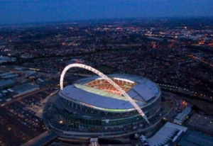 Wembley Stadium, an example of a building the requires intumescent coating. Learn more in the Prospector Knowledge Center.