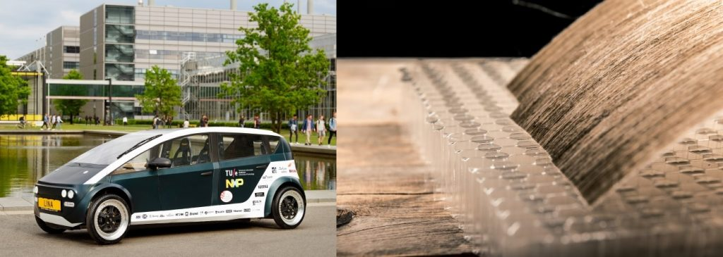 Lina, the world's first biocomposite car. Learn what makes this possible in the Prospector Knowledge Center.