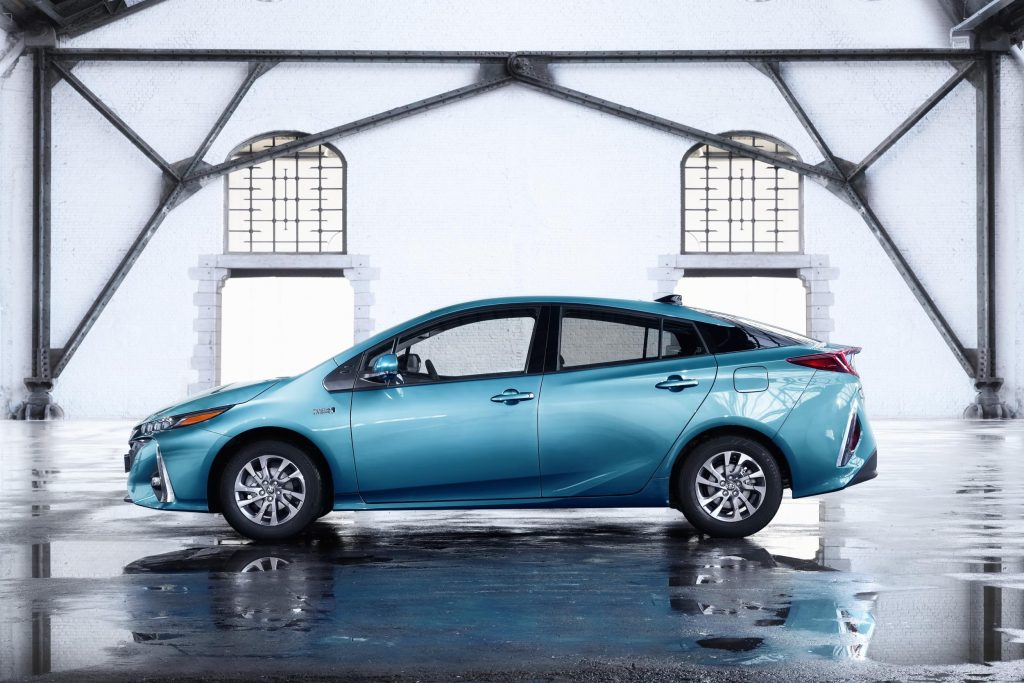 Toyota's hybrid Prius PHV with biocomposite car parts - learn more about this technology in the Prospector Knowledge Center.